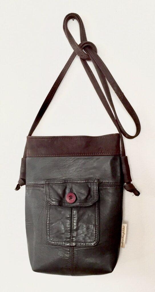 Guðrún Borghildur hliðartaska purse