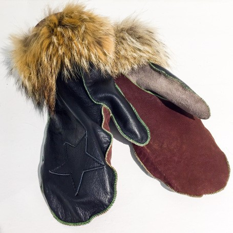 Luffur_Upcycled mittens