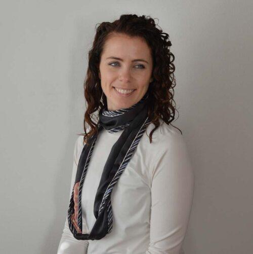 silk scarves upcycled Silkislæður