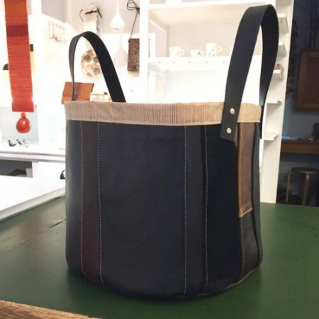 mittens aprons upcycled leather